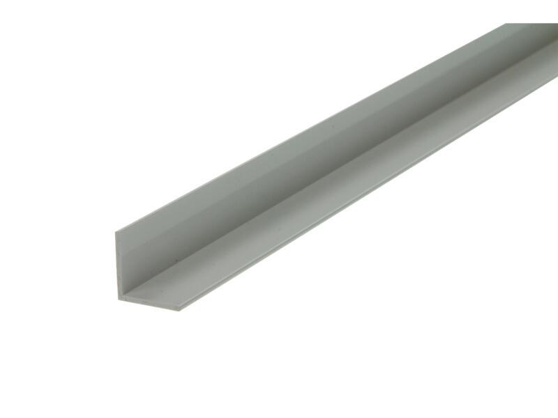 Arcansas Hoekprofiel 1m 15x15 mm PVC wit