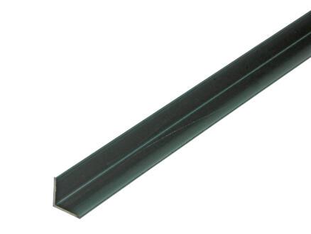 Arcansas Hoekprofiel 1m 15x15 mm geanodiseerd aluminium blinkend