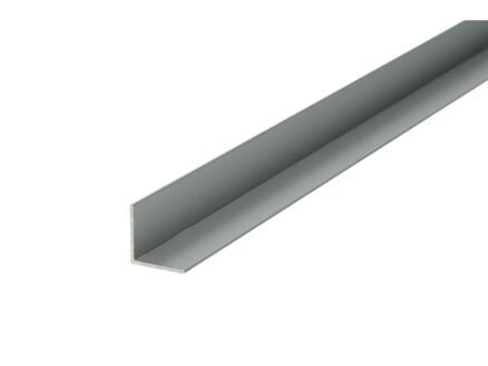 Arcansas Hoekprofiel 1m 15x15 mm geanodiseerd aluminium