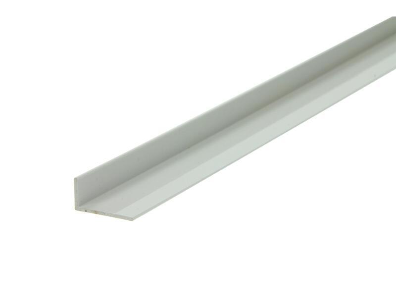 Arcansas Hoekprofiel 1m 20x10 mm PVC wit