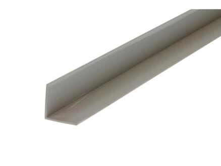 Arcansas Hoekprofiel 1m 20x20 mm PVC wit