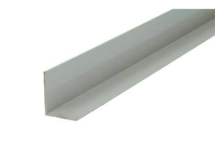 Arcansas Hoekprofiel 1m 25x20 mm PVC wit