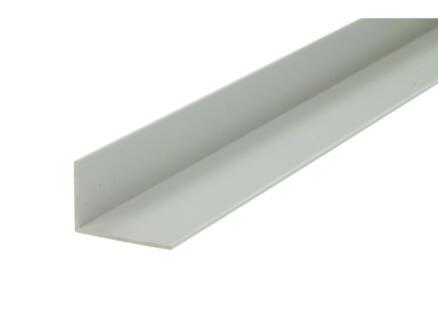 Arcansas Hoekprofiel 1m 30x20 mm PVC wit