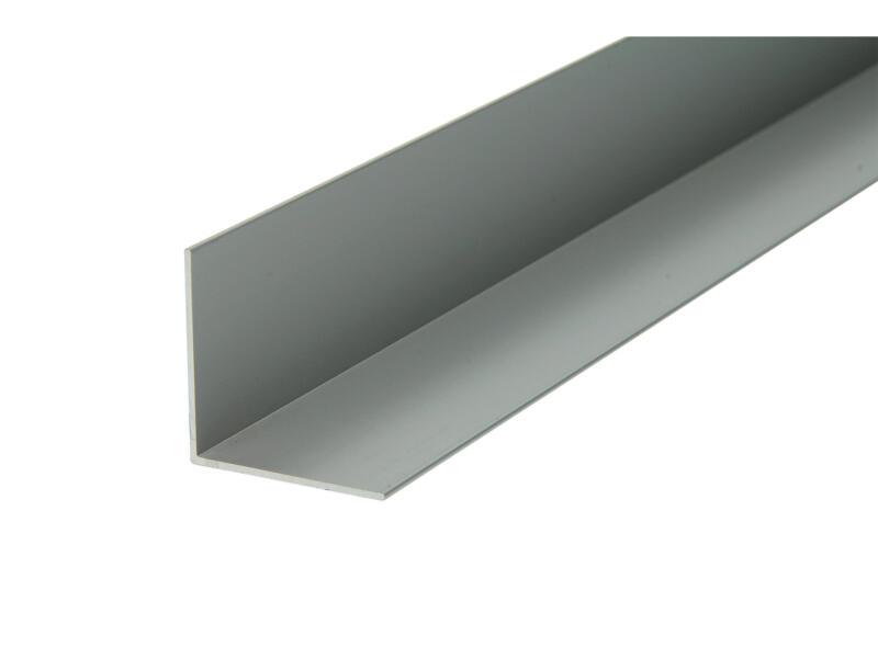 Arcansas Hoekprofiel 1m 30x30 mm geanodiseerd aluminium