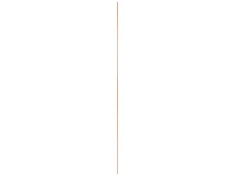 Hollat 16x16 mm 270cm grenen
