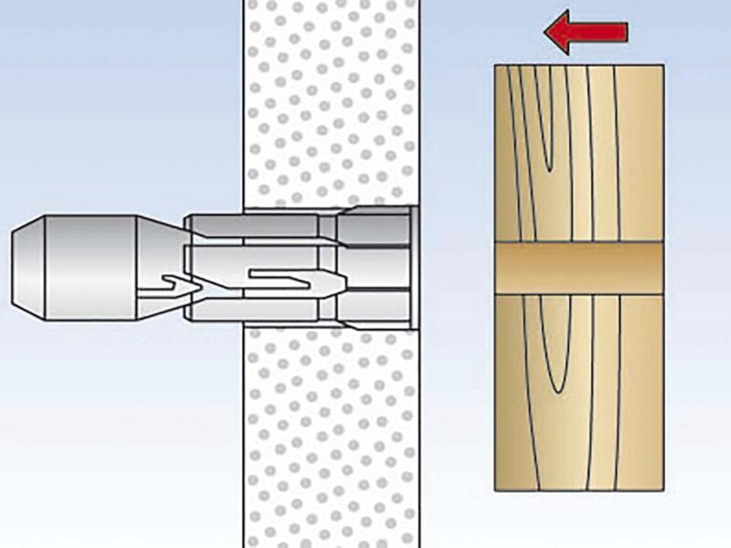 Fischer Hollewandplug PD 8