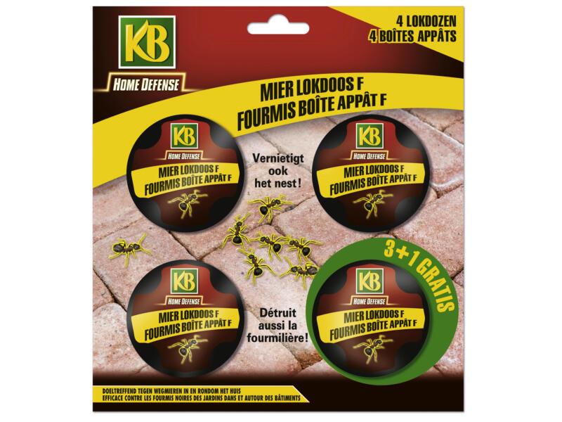 Kb Home Defense boîte anti-fourmis 4 pièces
