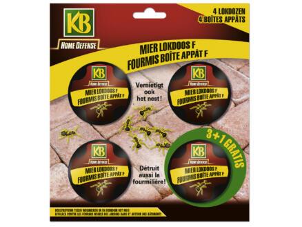 Kb Home Defense mierenlokdoos 4 stuks