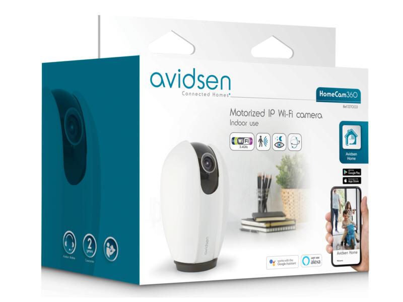 Avidsen HomeCam Smart Home binnencamera 360° met wifi