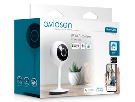 Avidsen HomeCam Smart Home binnencamera draaibaar met wifi