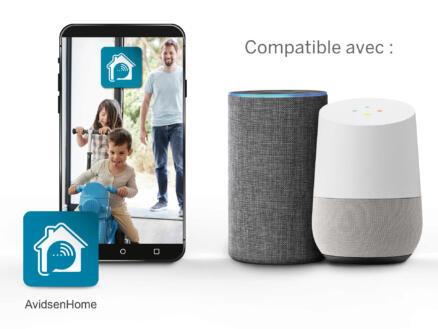 Avidsen HomeCam Smart Home caméra intérieure rotative avec wifi