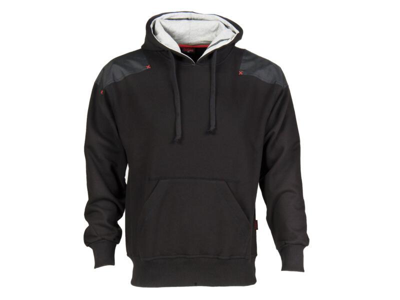 Busters Hoody Comfort sweater capuchon M zwart