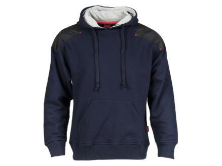 Busters Hoody Comfort sweater capuchon XL blauw