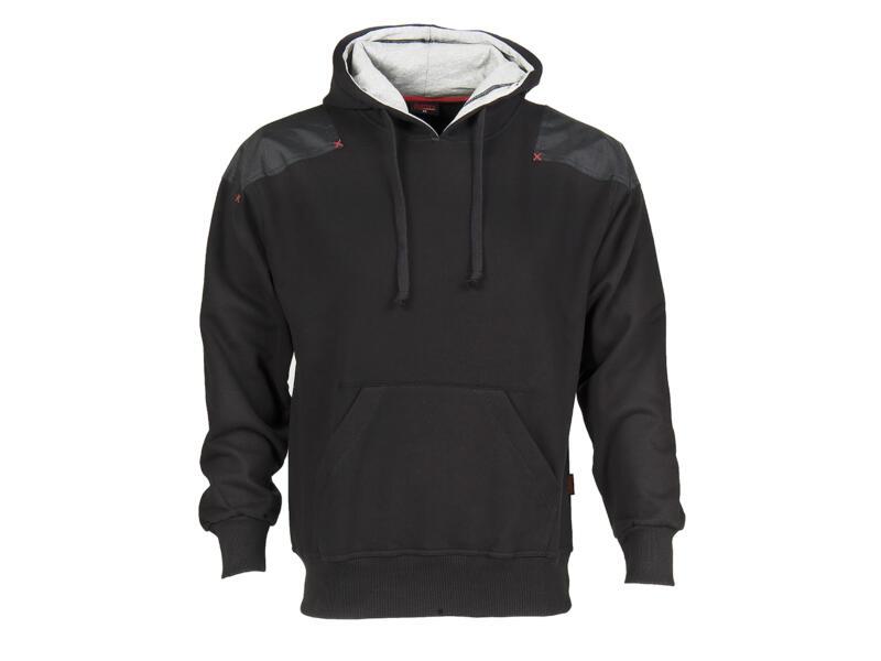 Busters Hoody Comfort sweater capuchon XXL zwart
