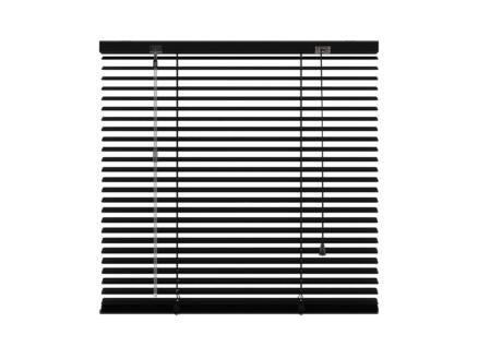 Decosol Horizontale lamellen 25mm 100x180 cm zwart