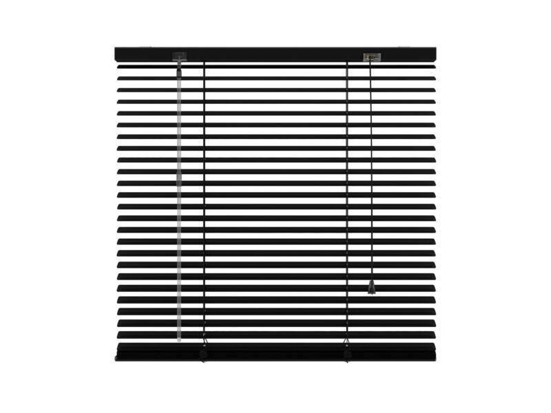 Decosol Horizontale lamellen 25mm 160x180 cm zwart