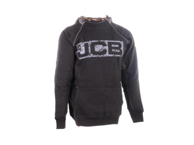 JCB Horton hoodie L zwart