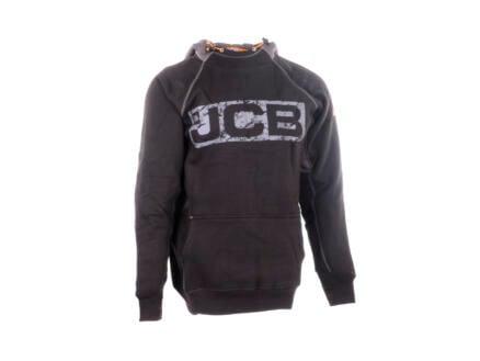 JCB Horton hoodie S zwart