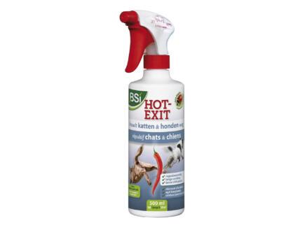 Bsi Hot Exit afweermiddel honden en katten 500ml
