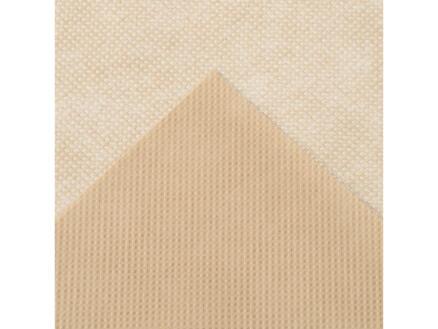 Housse d'hivernage avec corde 1x0,5 m beige 3 pièces