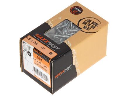 Maxxfast Houtschroeven TX 35x4,5 mm verzinkt 200 stuks