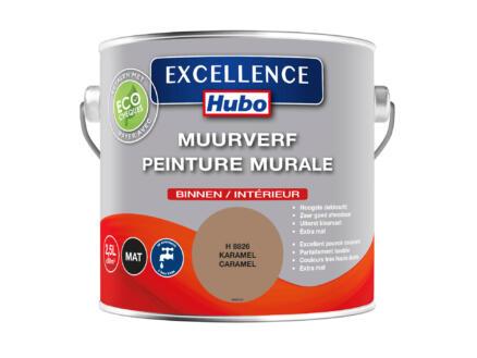 Hubo Excellence muurverf mat 2,5l karamel