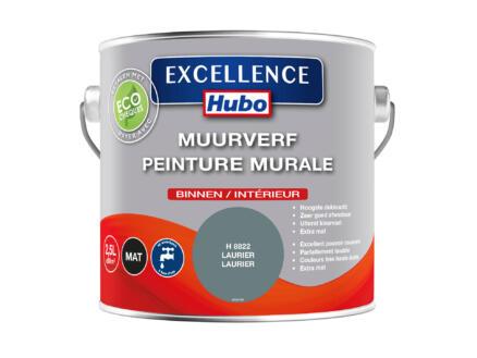Hubo Excellence peinture murale 2,5l laurier