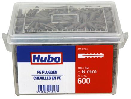 Hubo PE-pluggen 6mm 600 stuks