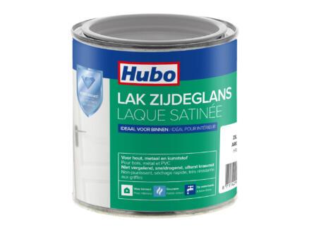 Hubo acryllak zijdeglans 0,25l zilver