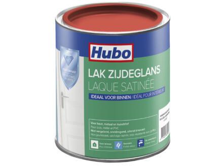 Hubo acryllak zijdeglans 0,75l anemoon rood