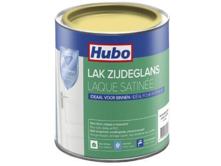 Hubo acryllak zijdeglans 0,75l bloessem geel