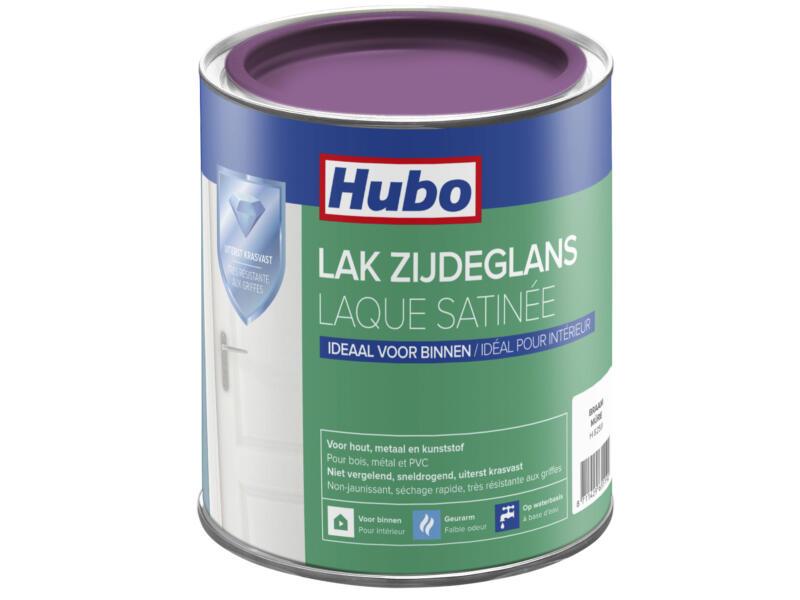 Hubo acryllak zijdeglans 0,75l braam