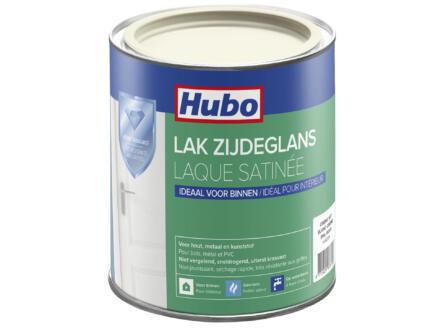 Hubo acryllak zijdeglans 0,75l crème wit