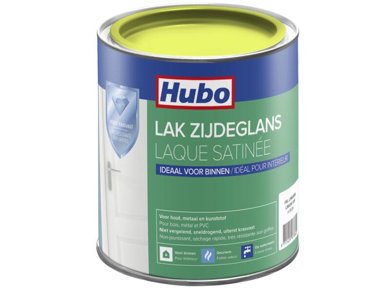 Hubo acryllak zijdeglans 0,75l fel limoen