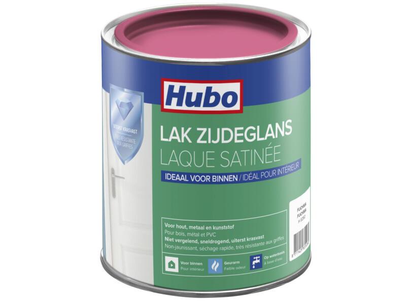 Hubo acryllak zijdeglans 0,75l fuchsia