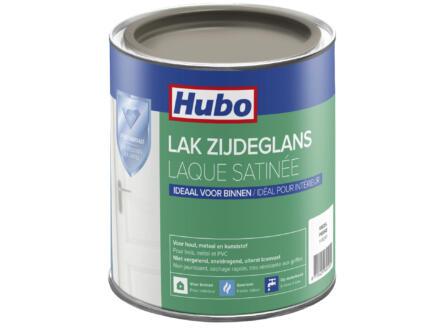 Hubo acryllak zijdeglans 0,75l kiezel