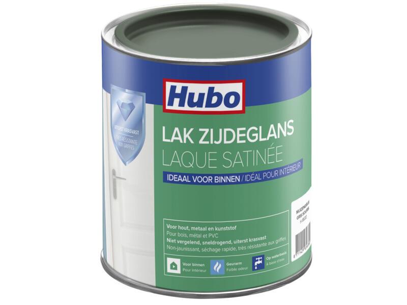 Hubo acryllak zijdeglans 0,75l muizen grijs
