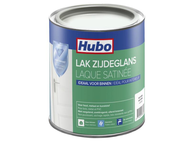 Hubo acryllak zijdeglans 0,75l naturel wit