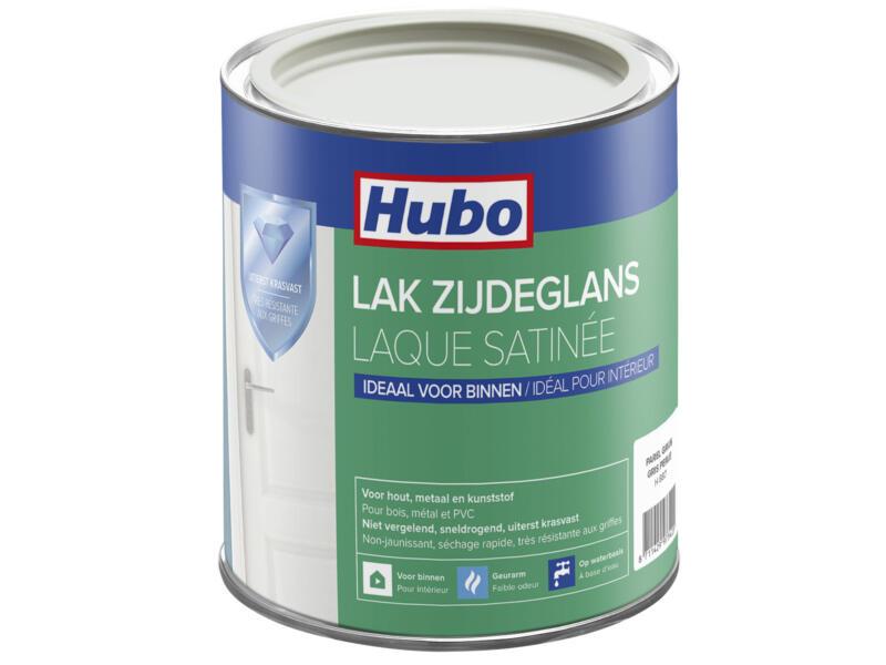 Hubo acryllak zijdeglans 0,75l parel grijs