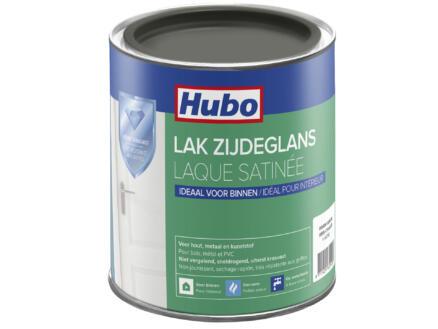 Hubo acryllak zijdeglans 0,75l warm grijs
