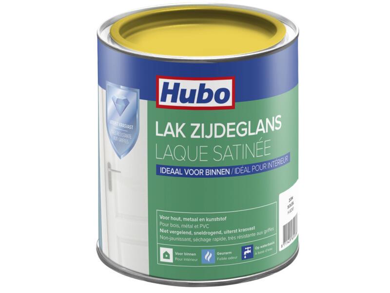 Hubo acryllak zijdeglans 0,75l zon