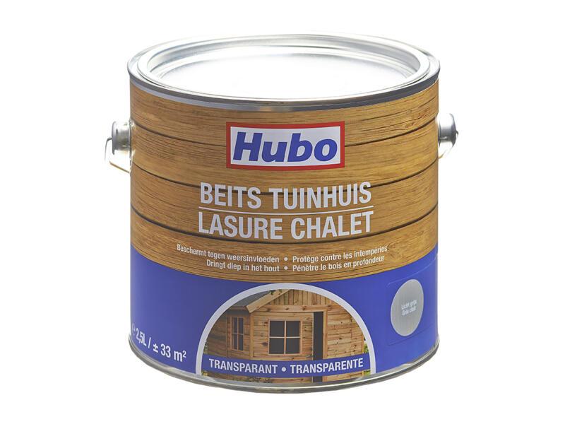 Hubo beits tuinhuis transparant 2,5l lichtgrijs