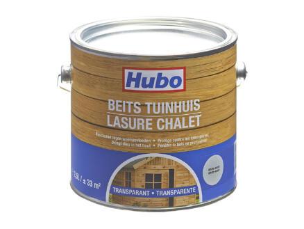 Hubo beits tuinhuis transparant 2,5l white wash
