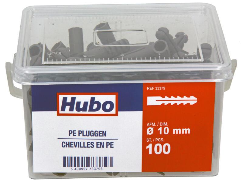 Hubo chevilles PE 10x48,5 mm 100 pièces