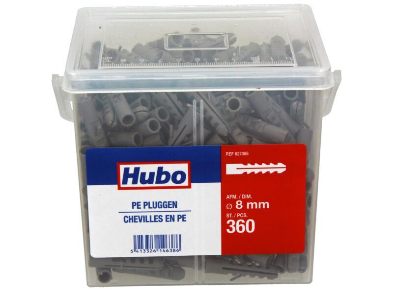 Hubo chevilles PE 8mm 360 pièces