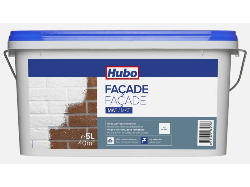 Hubo gevelverf façade 5l wit