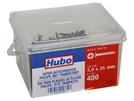 Hubo gipsplaatschroeven PZ2 35x3,9 mm 400 stuks