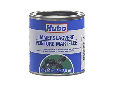 Hubo hamerslagverf 0,25l zwart