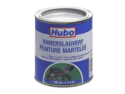 Hubo hamerslagverf 0,75l donker grijs