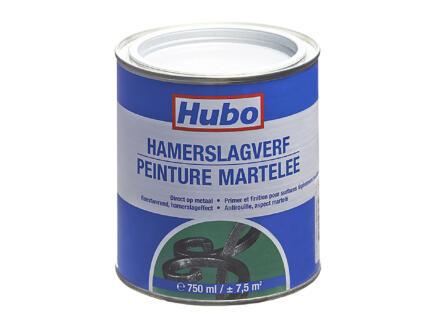 Hubo hamerslagverf 0,75l lichtgrijs